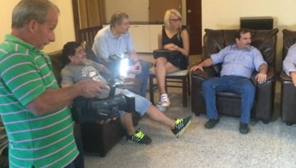 Maradona Cinco Héroes