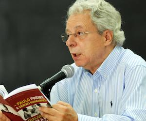 Frei Betto en La Habana. Foto: Oriol de la Cruz/ AIN