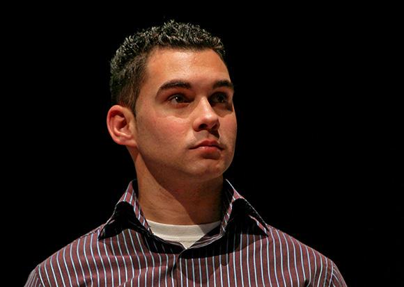 Elián González en la Gala por los 15 años de la Mesa Redonda. Foto: Ismael Francisco/ Cubadebate.