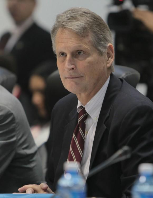 Edward Alex Lee, jefe de la delegación norteamericana. Foto: Ismael Francisco/ Cubadebate
