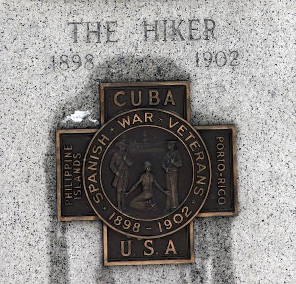 Detalle en el monumento al Soldado desconocido de EEUU en la Guerra Hispano-cubano-norteamericana, que aparece a la entrada del Cementerio Arlington, en Washington. Foto: Ismael Francisco/ Cubadebate