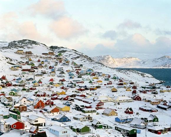 Qaqortoq es la ciudad más grande del sur de Groenlandia (Dinamarca), con 3.400 habitantes fue fundada en 1775