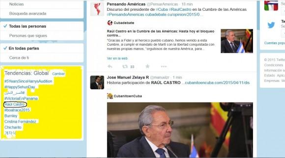 Raúl tendencia mundial en Twitter