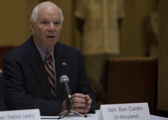 Senador Ben Cardin. Foto: Ismael Francisco/ Cubadebate
