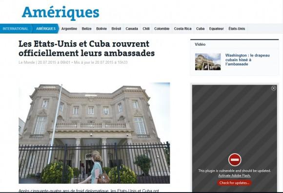 Le Monde, Francia, 20 de julio de 2015