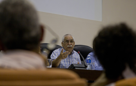 Ministro de Comunicación, Maimir Mesa Ramos. Foto: Ladyrene Pérez/ Cubadebate.