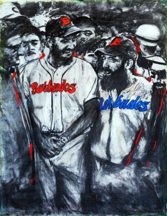 Barbudos, de Javier Guerra.