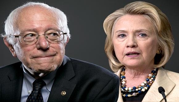 Bernie Sanders y Hillary Clinton. Nominación demócrata 2016.