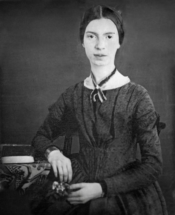Daguerrotipo de Emily Dickinson que se conserva en el Museo de Amherst.