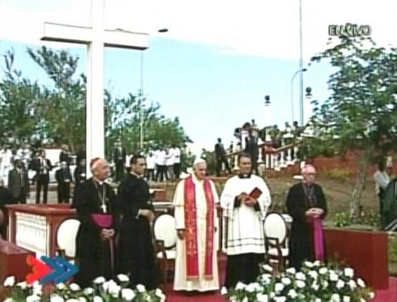 Papa en la Loma de la Cruz