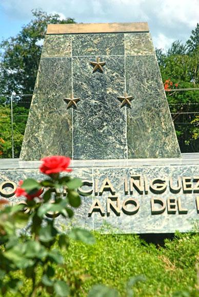 Mausoleo que guarda los restos mortales del Mayor General Calixto García Íñiguez. Foto: Juan Pablo Carreras / AIN