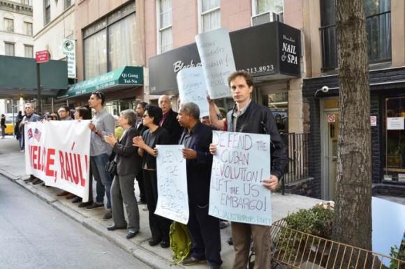 Solidaridad con Cuba NY (1)