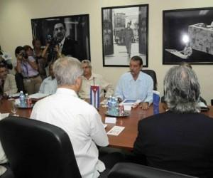 Conversaciones Cuba-UE. Sesión de septiembre de 2015. Foto: ACN / Archivo de Cubadebate
