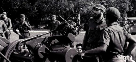 Fidel en los días de la Crisis de Octubre. Foto: Archivo