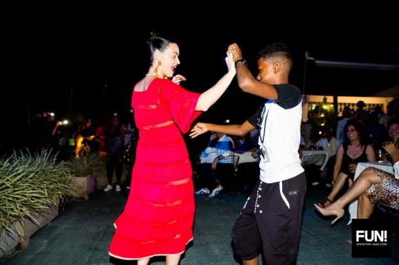 Katy Perry bailando en La Habana. Foto: Cuenta de Instagram de la cantante