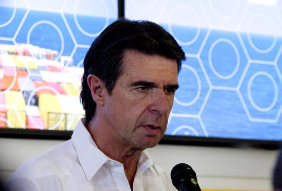José Manuel Soria, ministro de Industria Energía y Turismo de España. Foto: Ismael Francisco/Cubadebate
