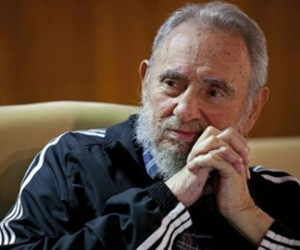 Fidel Castro. Photo: Roberto Chile