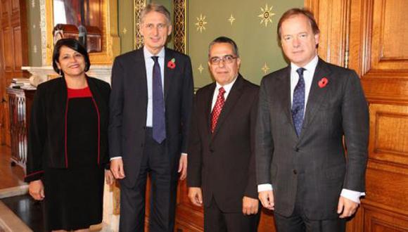 Viceministro Primero de Relaciones Exteriores de Cuba de visita en Reino Unido. Foto: CubaMinrex.