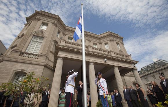 embajda cubana en estados unidos