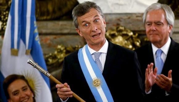 Mauricio Macri resultó electo presidente tras obtener el 51,40 por ciento de los votos en el balotaje celebrado el 22 de noviembre. Foto: EFE.