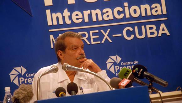El vicecanciller cubano Abelardo Moreno aseguró que la cita consolidará ese mecanismo de concertación política en la región de América Latina y el Caribe. Foto: Jorge Legañoa/ACN.