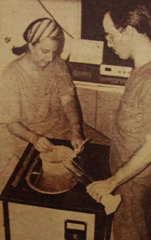 Eloísa Le Riverend en publicación del periódico Granma, noviembre de 1989.