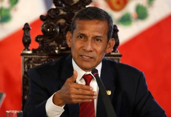 El presidente de Perú, Ollanta Humala. Foto tomada de vistazo.com
