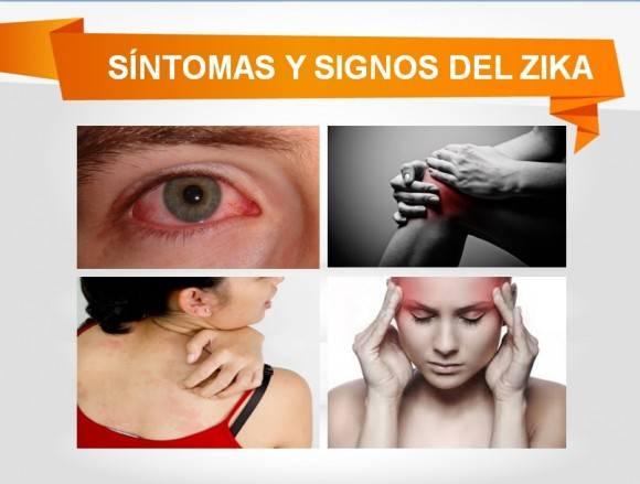 Síntomas Zika