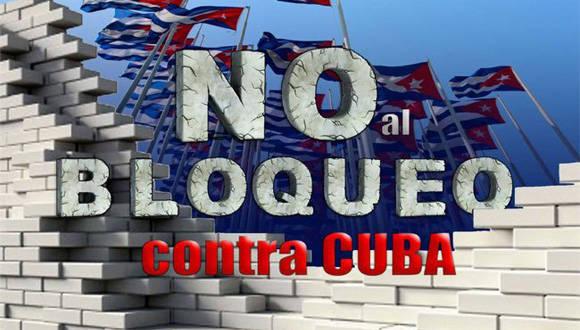 Resultado de imagen para bloqueo contra Cuba en la ONU
