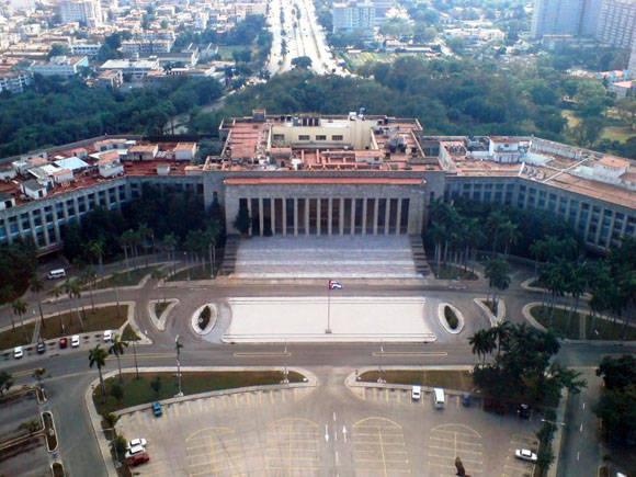 El Palacio de la Revolución.