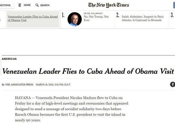 The New York Times, Estados Unidos.