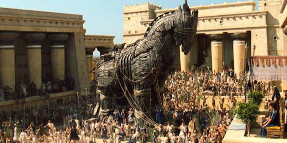 El Caballo de Troya.