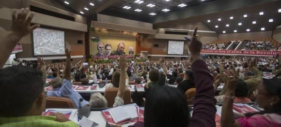 El Congreso del Partido Comunista de Cuba en su sesión de clausura. Foto: Ismael Francisco/ Cubadebate