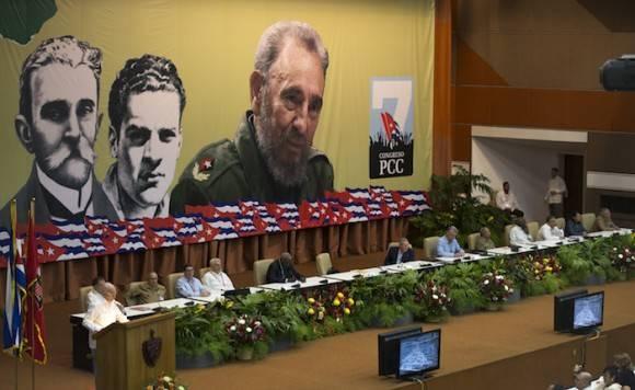 Raúl Castro en el VII Congreso del Partido. Foto: Ismael Francisco/ Cubadebate