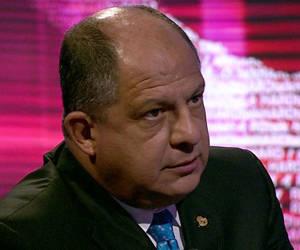 Presidente Luis Guillermo Solís