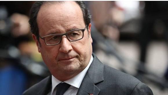 Presidente francés, François Hollande. Foto: Archivo.
