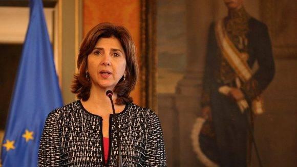 María Ángela Holguín, Canciller de Colombia. Foto: EFE/ Archivo