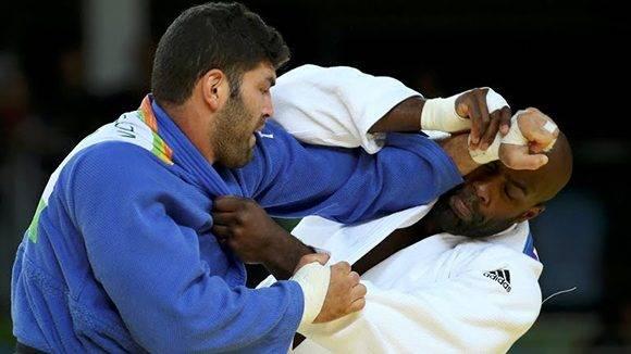 Teddy Rider (der.) se convierte en doble campeón olímpico.