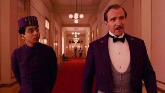 El gran hotel Budapest, de Wes Anderson, aparece en el puesto 21.