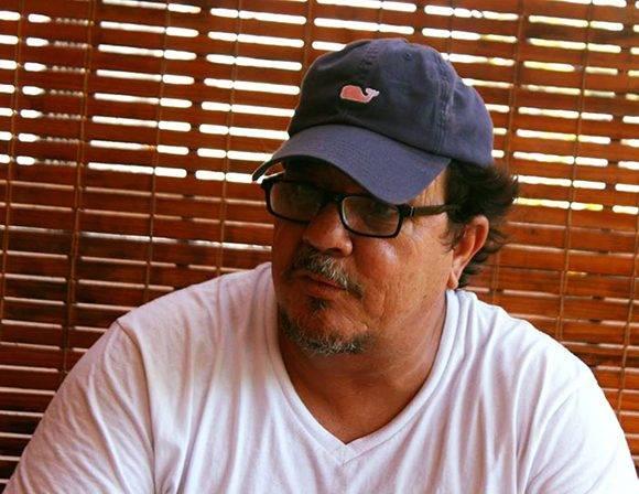 """Alejandro Pérez habla en la sección Canal USB de Cubadebate sobre los inicios de su carrera, el vuelco que dio su vida luego de """"Bailando"""" y sus planes actualesFoto: José Raúl Concepción/ Cubadebate."""