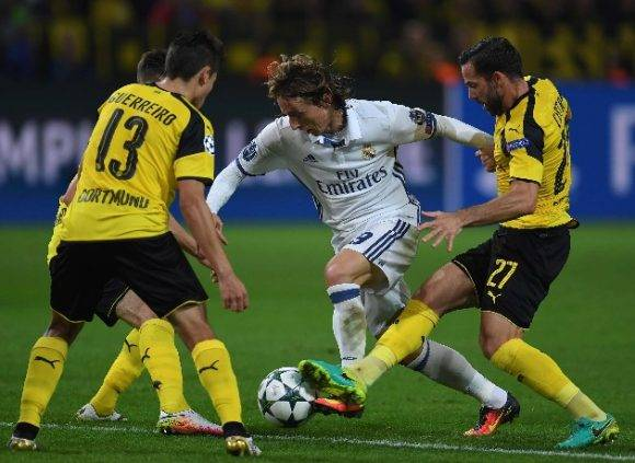 Real Madrid vs Borussia Dortmund en la Champions League (2)