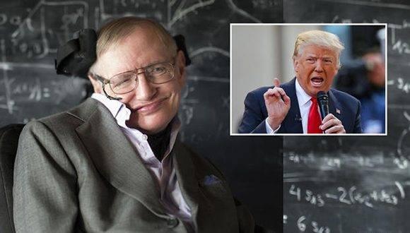Un nutrido grupo de científicos, incluido el aclamado físico Sthepen Hawking, ha firmado una carta abierta en la que critican a Trump por mostrarse a favor de que EE.UU. abandone el Acuerdo de París. Foto: Posta.