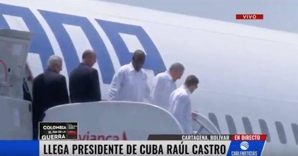 Foto: Cable Noticias, Colombia/ vía Twitter