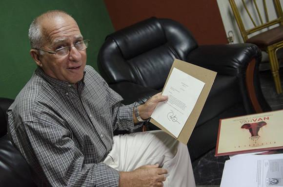 Mario A. Escalona Serrano, director de la EGREM. Foto: Kike.
