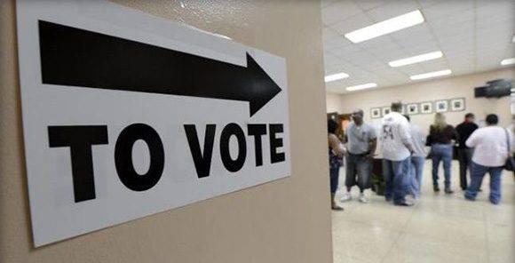Resultado de imagen para La participación a las elecciones de EEUU es una de las más bajas del mundo desde 1980