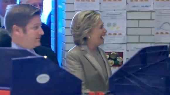 Hillary clinton vota en nueva york 2016