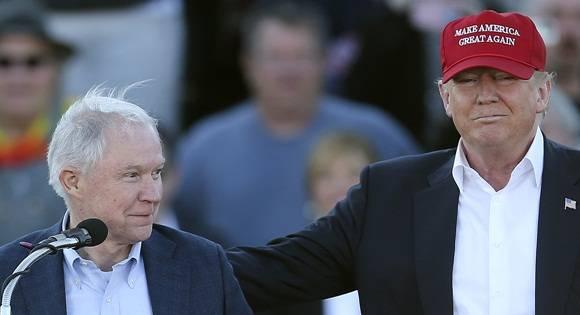 El senador Jeff Sessions fue propuesto como fiscal general de Estados Unidos y titular del Departamento de Justicia. Foto AP.