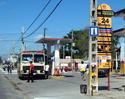 Estación de servicio en Jatibonico, Cuba