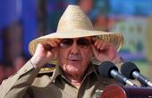 Raúl Castro durante la celebración del 60 aniversario del 26 de Julio en Santiago de Cuba