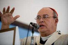 El cardenal Jaime Ortega